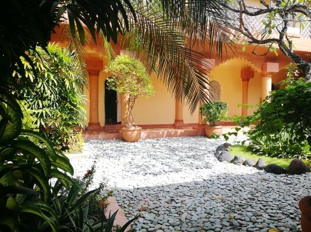beautiful spa garden