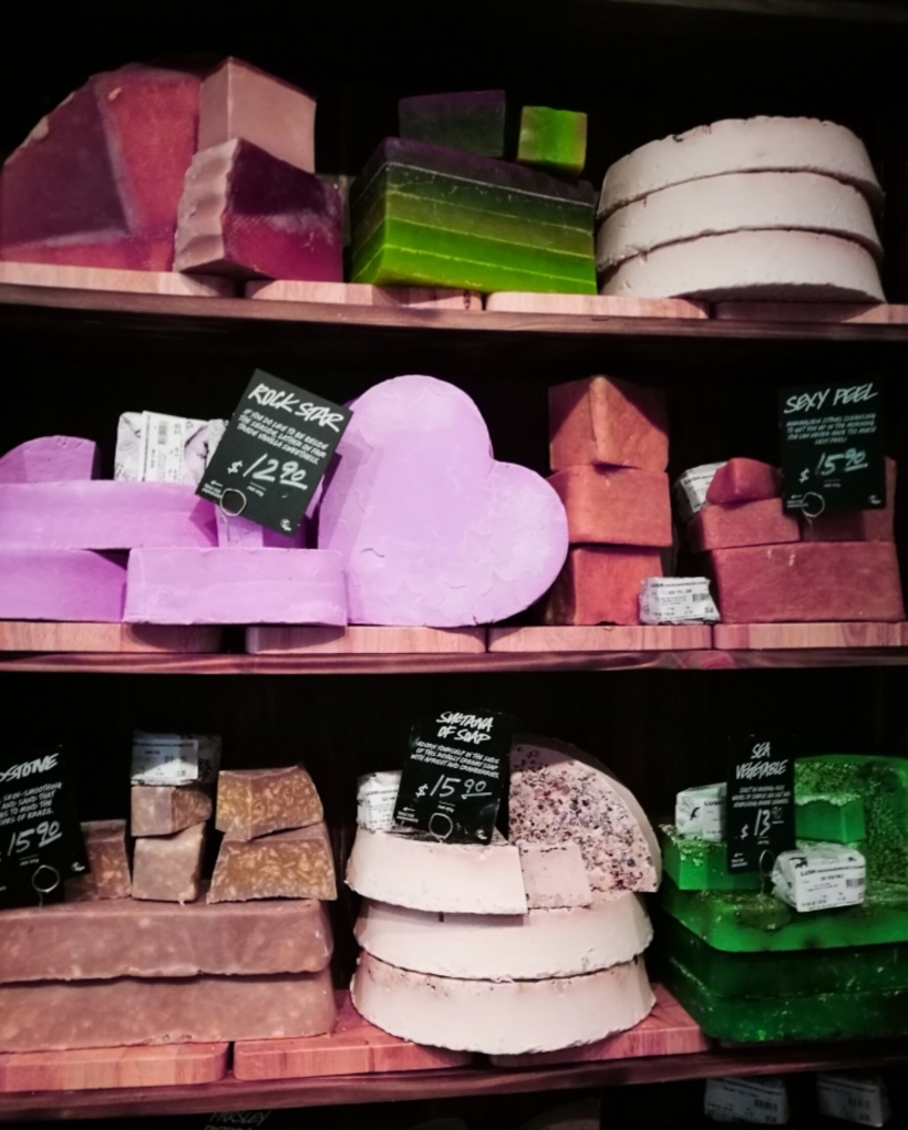 lush soap