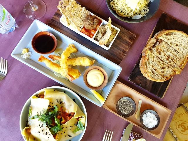 Balique menu
